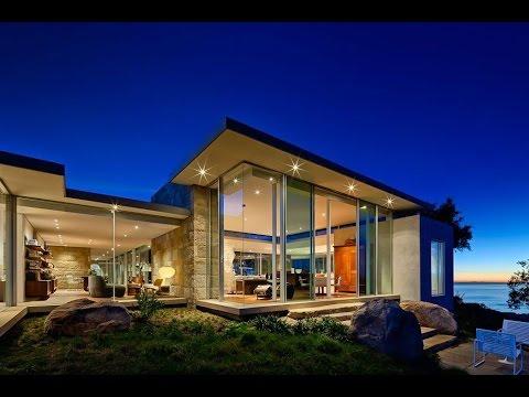 top contemporary house designs. Contemporary House Design on Beach Front Edge Top Site in Santa  Barbara County California