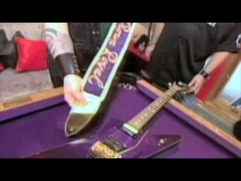 rare video of dimebag darrell and his crown royal washburn guitar youtube. Black Bedroom Furniture Sets. Home Design Ideas