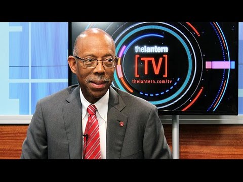 Lantern TV exclusive interview with The Ohio State University President Michael Drake [Fall 2016]