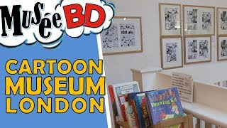 Visite el Museo de la Historieta en Londres