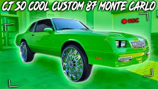 CJ SO COOL 87 MONTE CARLO AKA GREEN MACHINE
