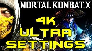 MORTAL KOMBAT X PC 4K ULTRA GRAPHICS (PC Max Settings Gameplay)
