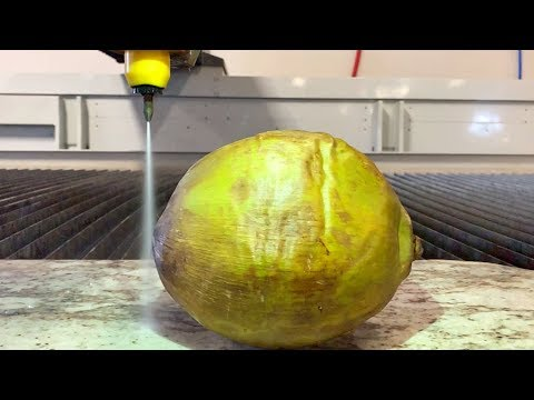 How to Open a Fresh Coconut Using Only Water