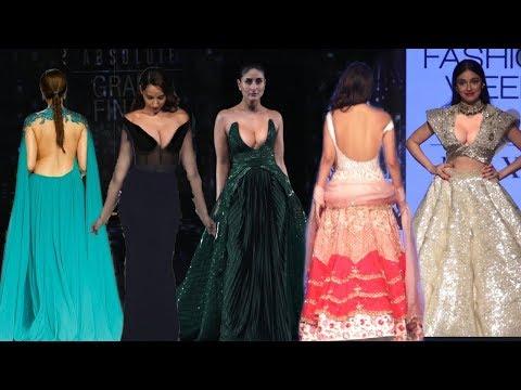 Bollywood Actresses Gorgeous Entry on Ramp Walk @LFW2020   Ileana D'Cruz, Kareena, Malaika, Nora