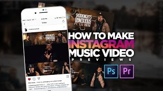 How To Make Instagram Music Video Previews | Adobe Premiere Pro  Tutorial