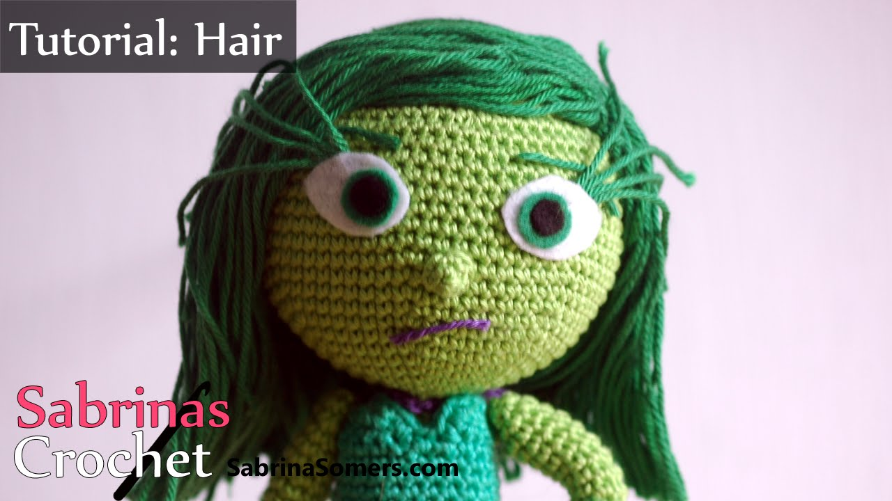 HOW TO ADD HAIRS IN YOUR AMIGURUMI - YouTube | 720x1280