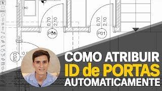 COMO ATRIBUIR O ID DE PORTAS AUTOMATICAMENTE  - GESTOR DE ID ARCHICAD