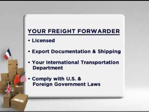 What is a Freight Forwarder ?  Part I