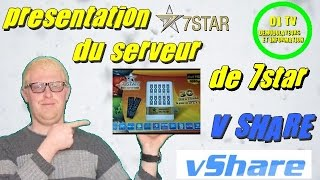 présentation du serveur vshare du 7star