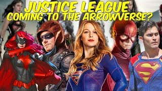 Justice League Coming To The Arrowverse? Crossover Potential!