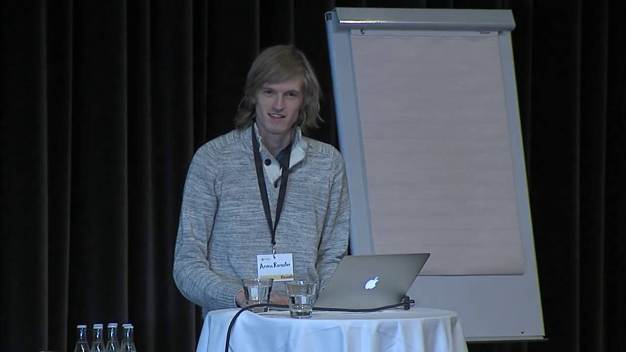 Image from Happiness in Open Source (Impromptu Keynote)