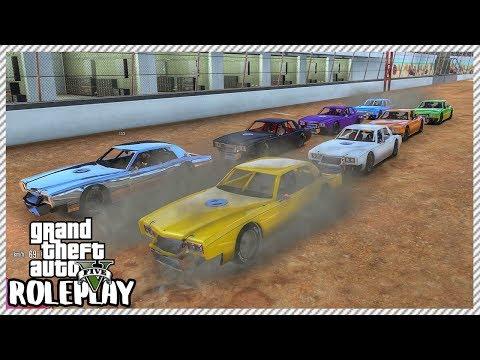 GTA 5 Roleplay - Incredible Demolition Derby Race Event | RedlineRP #283
