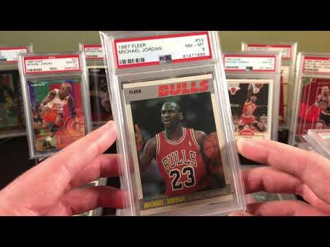 Michael Jordan Card Collection