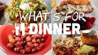 What's for Dinner! Meals that are quick & tasty for busy summer evenings!