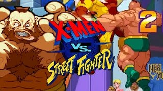 ZANGIEFINITE: X-Men Vs. Street Fighter - Online Matches