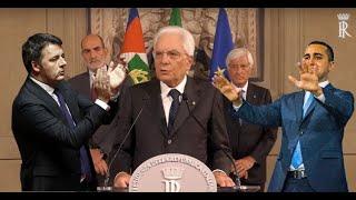 """Mattarella """"lancia"""" il governo giallorosso ( 23 ago 2019)"""
