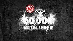 60.000 Mitglieder bei Eintracht Frankfurt