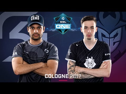 CS:GO - SK vs. G2 [Inferno] - Swiss Round 4 - ESL One Cologne 2017