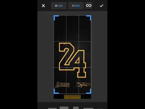 I Made A Black Mamba Wallpaper For My Phone Kobe Bryant Youtube