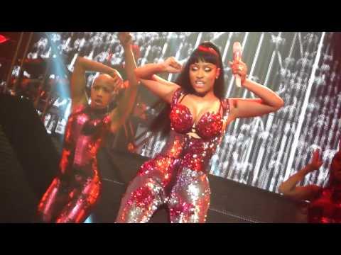 Nicki Minaj  Trini Dem Girls   ZENITH PARIS, PINK PRINT TOUR