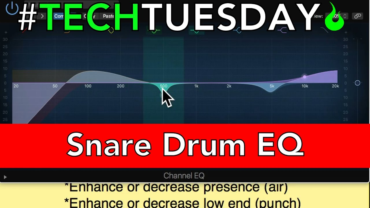 how to eq a snare drum ascensiontechtuesday ep053 youtube. Black Bedroom Furniture Sets. Home Design Ideas