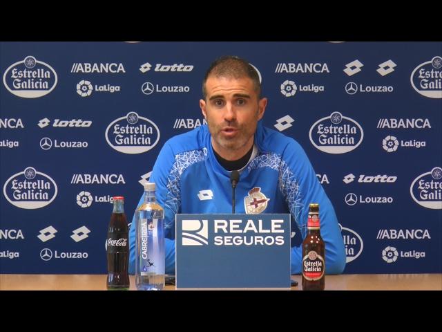 Rueda de prensa de Gaizka Garitano previa al encuentro contra el Betis