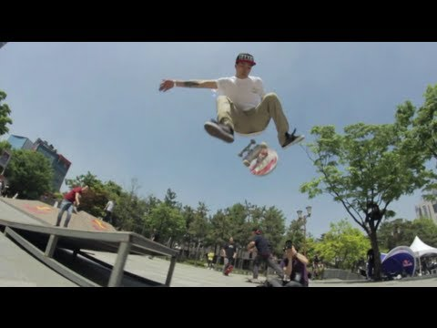 Skating in South Korea - Red Bull Local Hero Tour