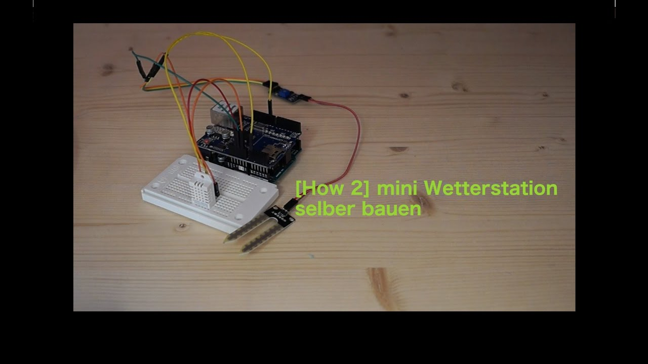 how 2 mini wetterstation selber bauen faszination technik youtube. Black Bedroom Furniture Sets. Home Design Ideas