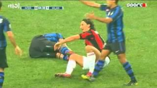 Zlatan Ibrahimovic kreeg moordaanslag van Marco Materazzi