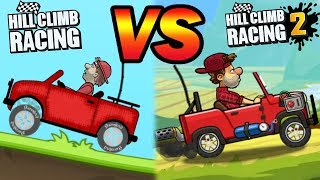 Hill Climb Racing 2 - Moon Event and VIP challenges   GamePlay