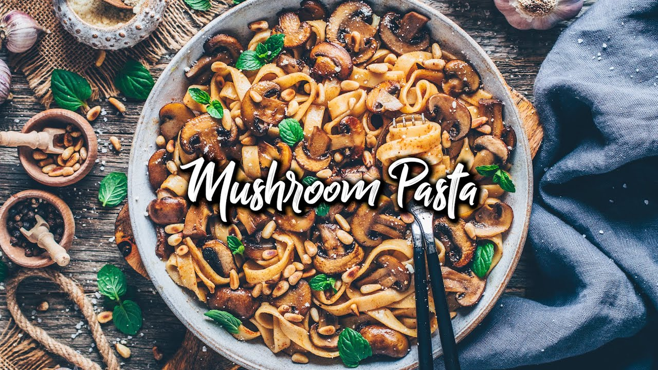Balsamic Mushroom Pasta (Vegan & Easy) * Recipe