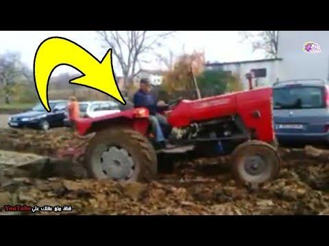 مزارع سأم من اشخاص يركنون سياراتهم على أرضه لذا انتقم منهم بشكل غريب - شاهد ماذا فعل