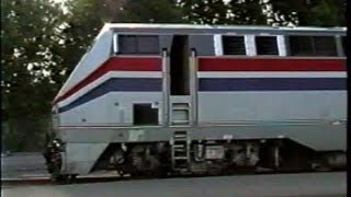 Amtrak in Upstate NY 1999 - Part 3 - Albany/Rensselear Shop Tour