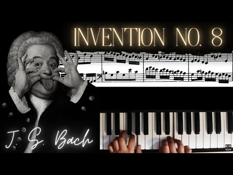 J.S. Bach: Two-Part Invention No. 8 in F major │ Classical Piano Lesson #4