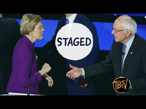 Sanders vs. Warren Battle Isn't A Battle It's A Smear | Tim Black