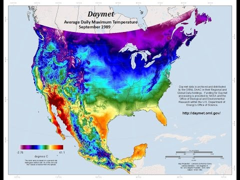NASA Earthdata Webinar: Accessing Daymet Data Through Web Based Tools and Services
