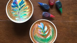 Here's How To Make A Rainbow Latte