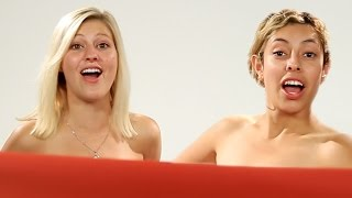 Women BFFs See Each Other Naked For The First Time thumbnail