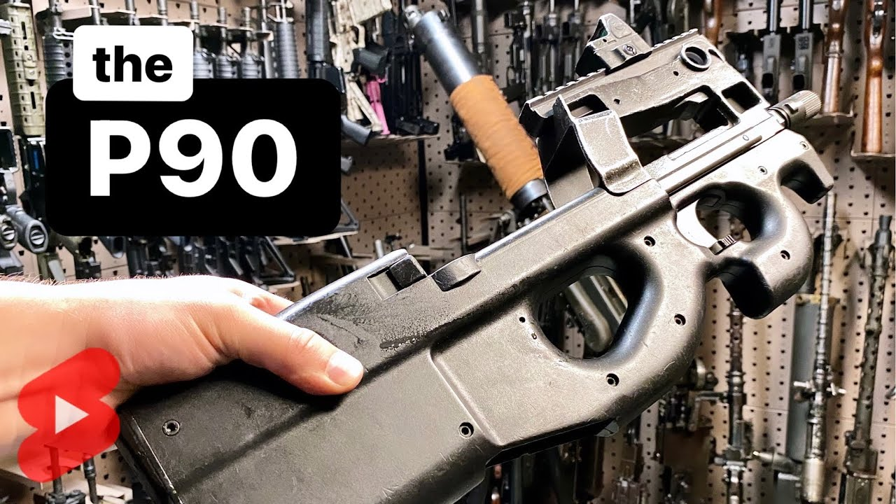Download The P90 (One of my Favorite Machine Guns) in 1 Minute #Shorts
