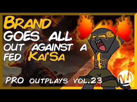 Brand Outsmarts an Overly Fed Kai'Sa | Top 10 PRO Outplays