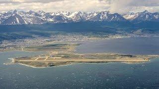 Ushuaia Malvinas Airport, Ushuaia, Tierra del Fuego, Argentina, South America