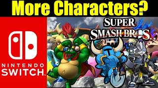 More Characters Added To Super Smash Bros Switch? (Nintendo Switch Rumor)