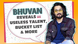 Bhuvan Bam's Most Candid Fire Up | Bucket List, Maximum Money Made From A Video & More