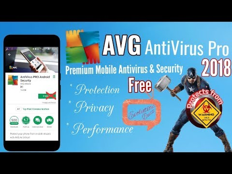 AVG Antivirus Pro 2018 Apk For Free For Android