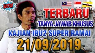 Masjid Ramai Tanya Jawab Kajian Ibu - ibu Kota Batam bersama Ustadz Abdul Somad Lc.MA