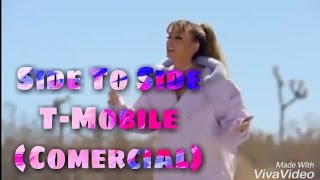 ariana grande side to side commercial t mobile espaol