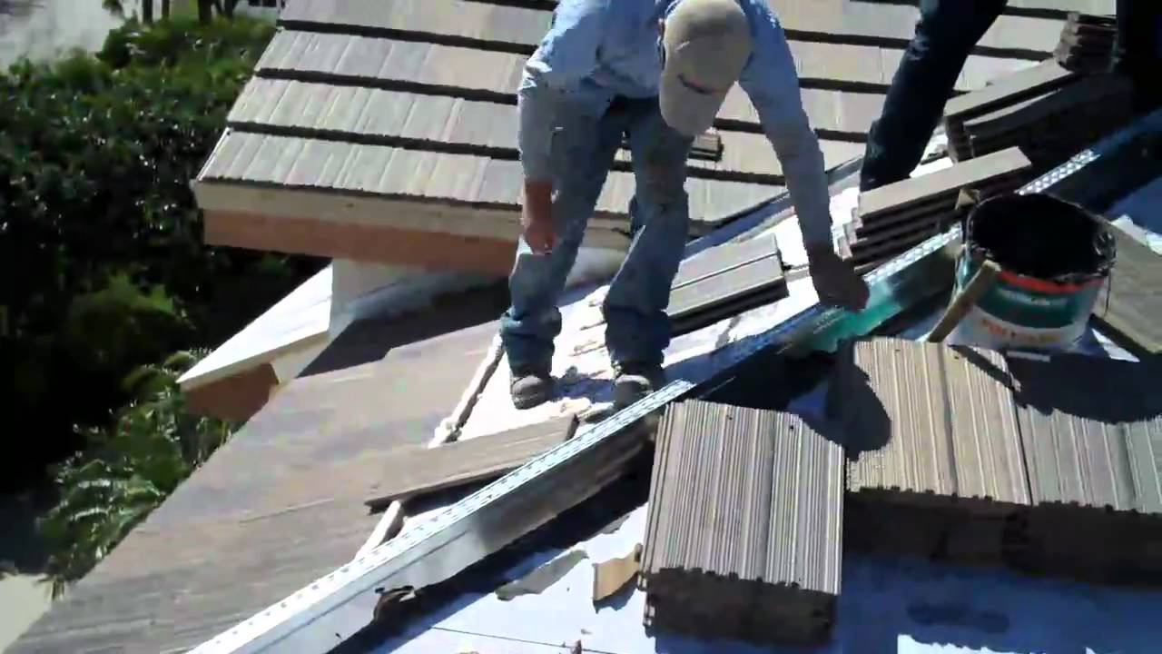 Kirkey Roofing Eagle Tile Roof Install Youtube