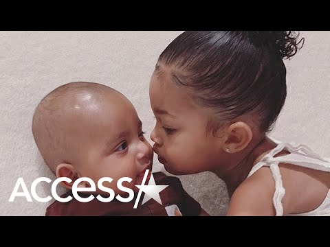 Kylie Jenner's Daughter Stormi Snuggles With Cousin Psalm In Adorable Bonding Moment