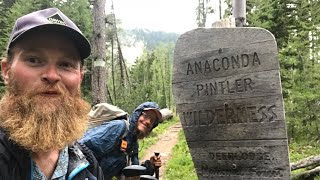 2018 CDT Thru Hike ep. 22 Anaconda - Pintler Wilderness
