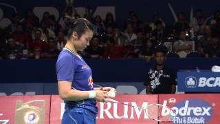 BCA Indonesia Open 2015 | Badminton F M4-WD | Tang J.h/Tian Q vs N.K Maheswari/G. Polii